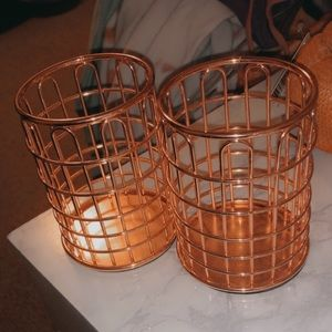 Pencil Holders Rose Gold